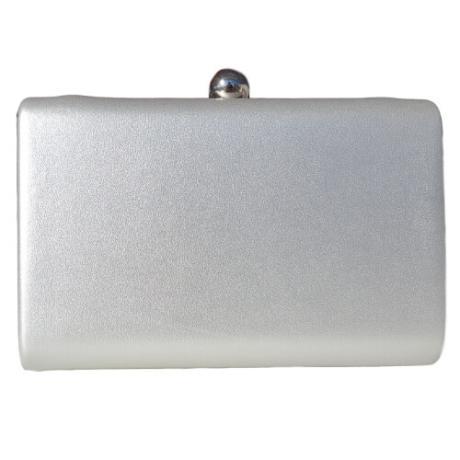 Mалка кожена дамска чанта за официални събития