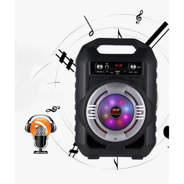 Ударо и влагоустойчива Bluetooth караоке тонколона