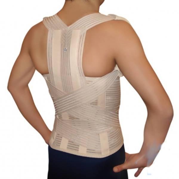 Професионален колан за изправяне на гърба и поддръжка на кръста с метални шини