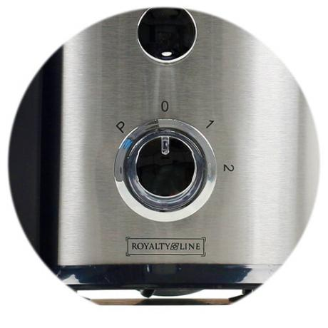 Професионален кухненски робот 4 в 1: сокоизтисквачка, пасатор, блендер и мелачка Royalty Line