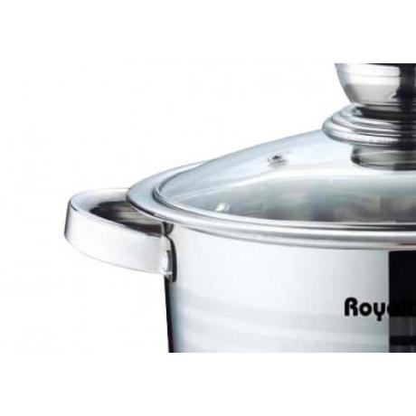Кухненски комплект от 10 части тенджери, лъжици и черпак Royalty Line