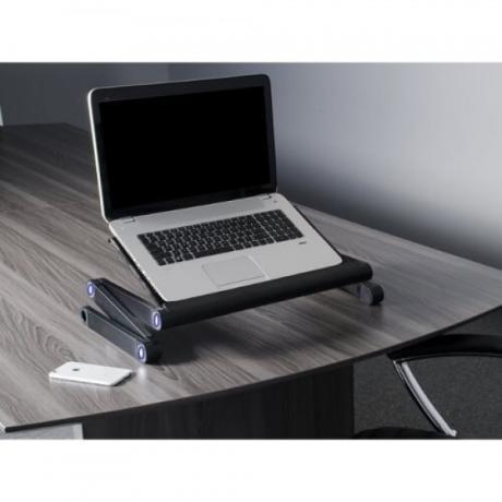 Мултифункционална алуминиева масичка за лаптоп Т9