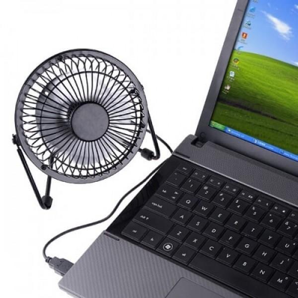 USB мини вентилатор за лаптопи, компютри и коли
