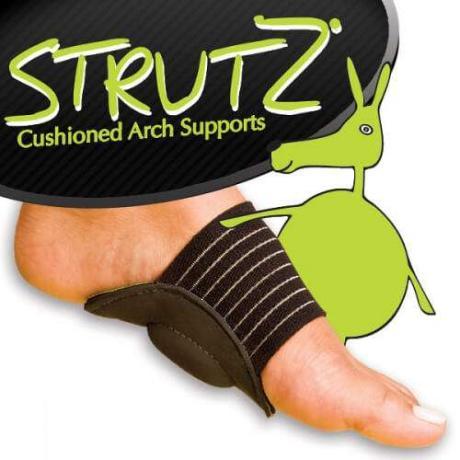 Ортопедични стелки Strutz Cushioned Arch Supports