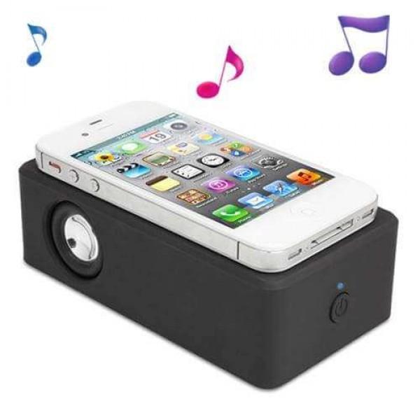 Колонка за телефон Boose Amplifying Speaker с уникален начин на свързване