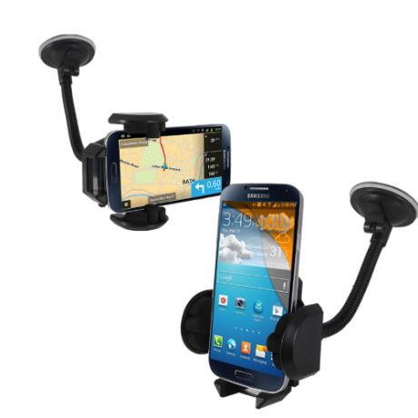 Автомобилна стойка с гъвкаво рамо за мобилни устройства