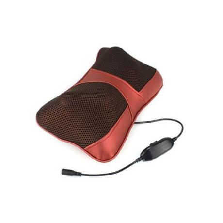 Шиацу масажна възглавничка с адаптер за автомобили