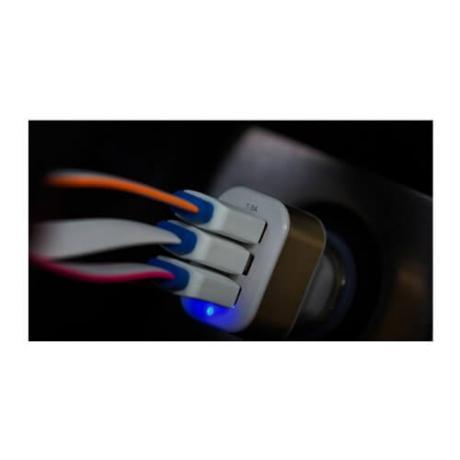 USB разклонител за кола -  троен