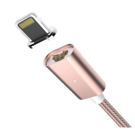 Заряден кабел за iPhone  или Android с неодимов магнит