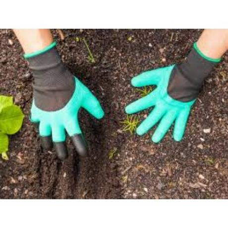 Градински ръкавици с нокти Garden Genie Gloves