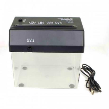 Електрическа машина за отваряне на писма и унищожаване на ценни книжа