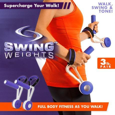 Тежести за ръце Swing Weights