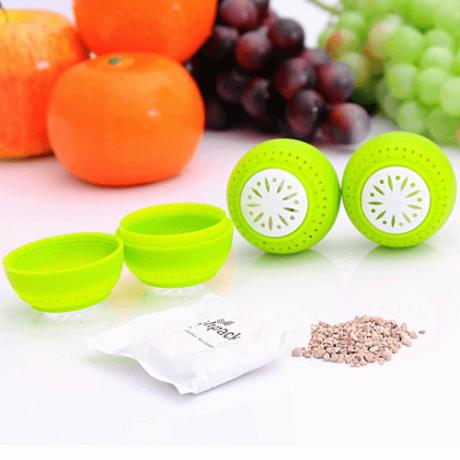 Fridgeballs 3 броя десорбатори за запазване на свежестта на плодове и зеленчуци