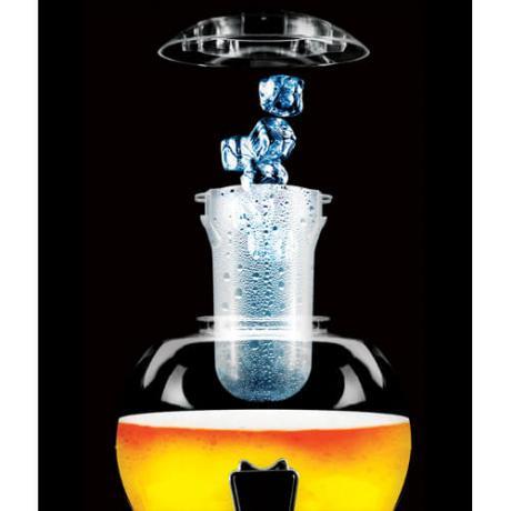 Диспенсър за бира - охладител във формата на балон