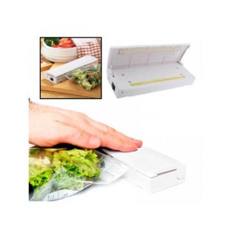 Компактна машинка за запечатване на свежи храни