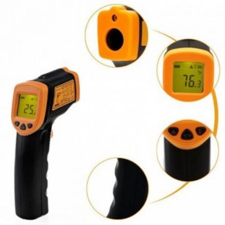 Портативен инфрачервен термометър