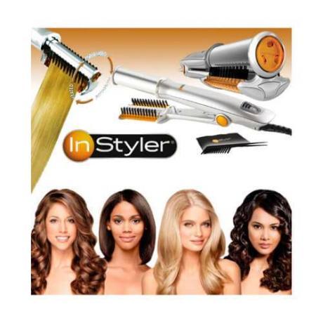 Комбиниран уред преса и маша за коса In Styler 3 в 1