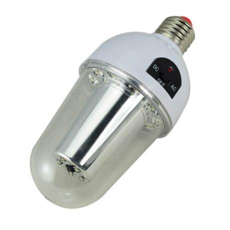 LED лампа с дистанционно и батерия