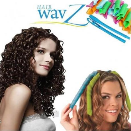 Hair WavZ комплект големи ролки за коса за красиви и буйни къдрици