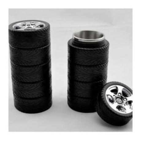 Термос чаша гуми с логото на Mercedes