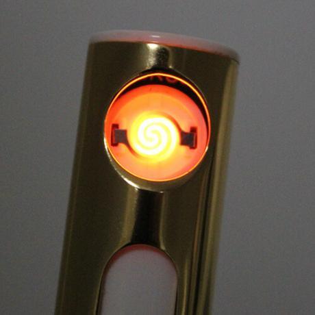Компактна противовятърна usb запалка