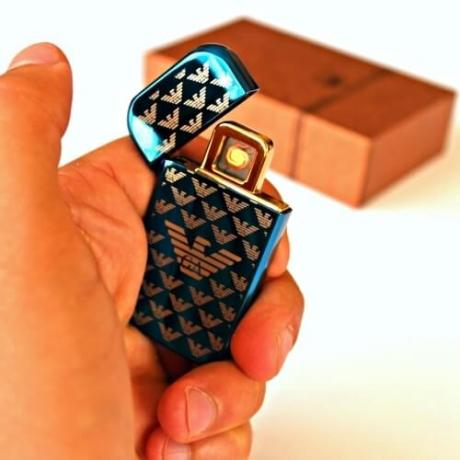 Луксозна еко USB запалка с логото на Армани