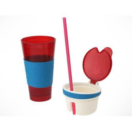 Чаша 2 в 1 за напитки и закуска