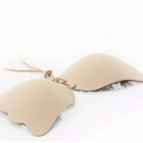 Самозалепващ се силиконов сутиен с ефект повдигане на бюста