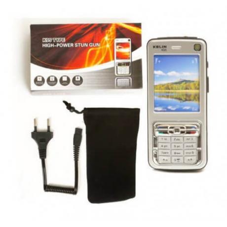 Бутафорен GSM електрошок с фенерче