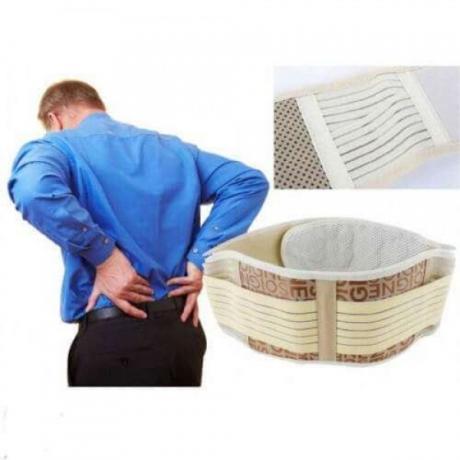 Титаниев турмалинов колан срещу болки в кръста