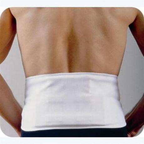 Спортен масажиращ колан със затоплящ ефект при болки в кръста