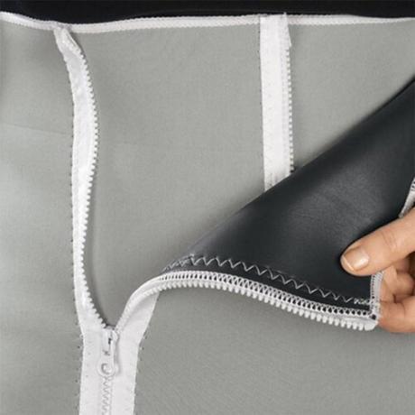Унисекс регулируем неопренов колан за отслабване с ципове
