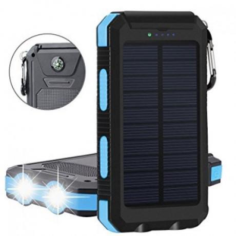 Влаго и ударо усточива соларна външна презареждаема батерия 16800mAh