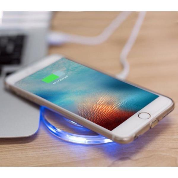 Универсално безжично wireless зарядно за смартфон
