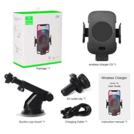 Безжично зарядно устроиство с активен сензор за захват