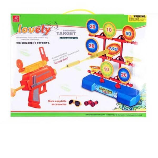 Детска игра с пистолет и мишени Shooting Target