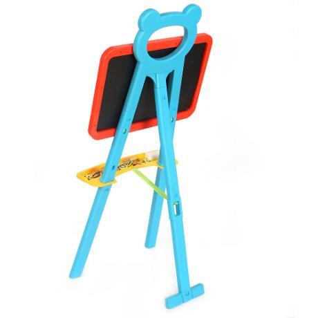 Образователена магнитна дъска с тебешир Learning Easel 3 в 1