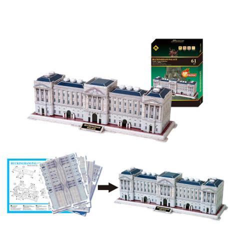 3D Пъзел Buckingham Palace от 61 части