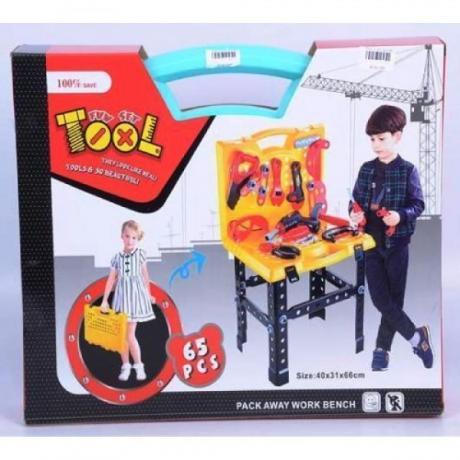 Комплект пластмасови инструменти за деца Fun Set Tools