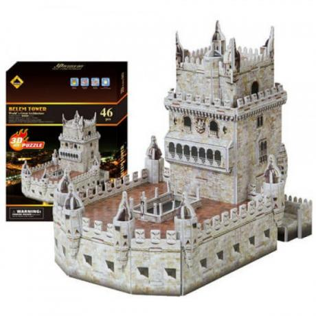 3D пъзел Кулата Белем - 46 части