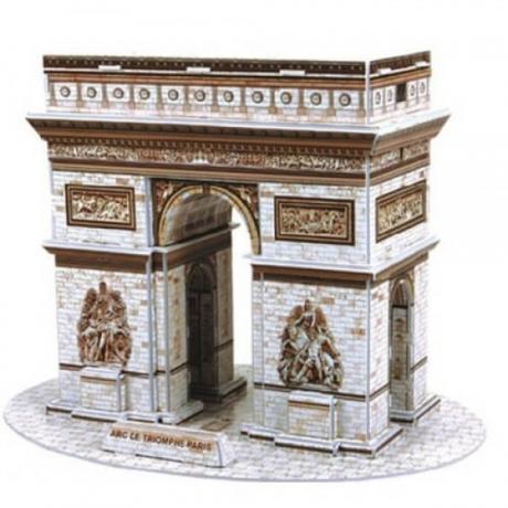 3D пъзел с Триумфалната Арка 26 части