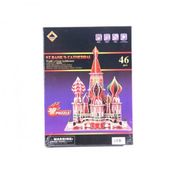 3D Пъзел Храм Василий Блажени
