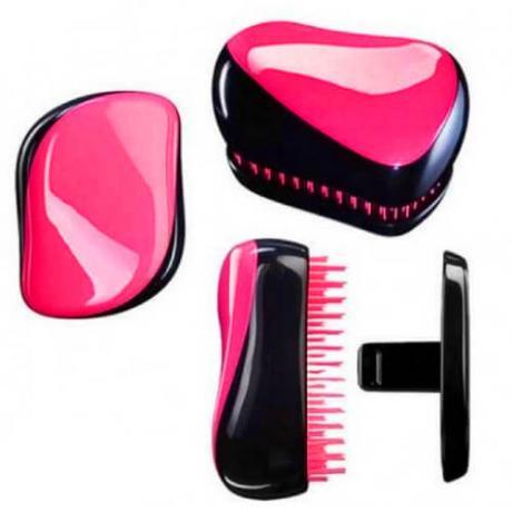 Компактен гребен за лесно разресване и заглаждане на косата