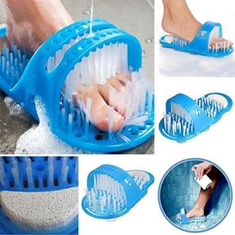 Ексфолиращи и масажиращи чехли за баня