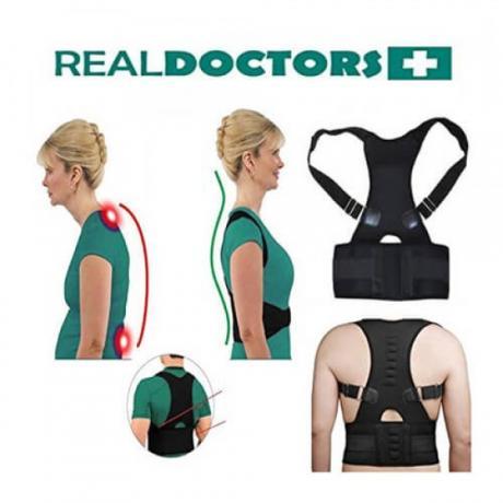 Универсален, регулируем колан за поддръжка на гърба Real Doctors